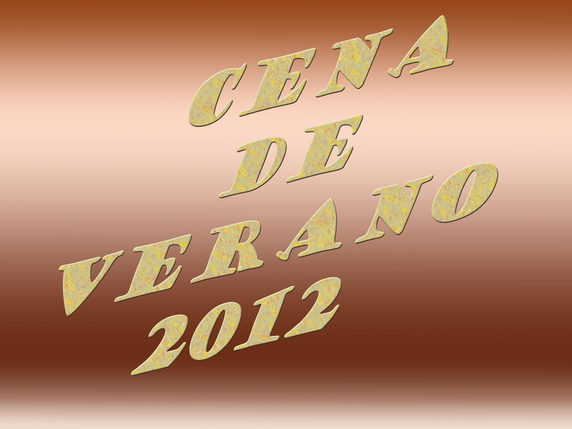 a-Cena Verano 2012-Logo