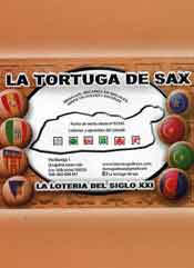 LA TORTUGA DE SAX Colabora con la comparsa de Garibaldinos